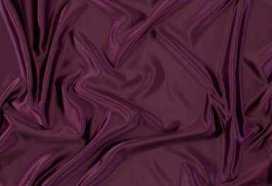 Gallery image for Eggplant Mystique Satin Runner