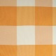 Orange & White Check Large