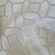 Ivory Octagon Sheer