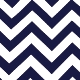 Chevron Blue Navy