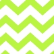 Chevron Green Lime
