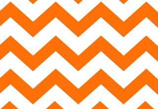 Gallery image for Orange Chevron Runner