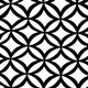 Black/White Circle Leaf