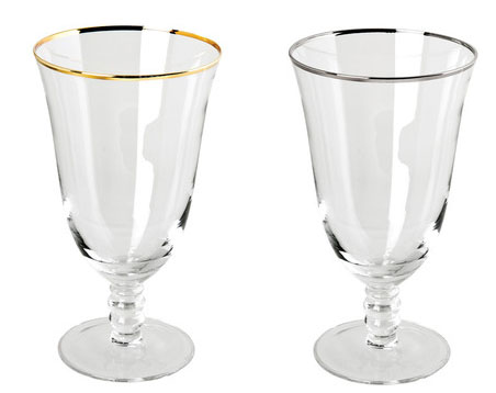 Gallery image for Silver & Gold Rim