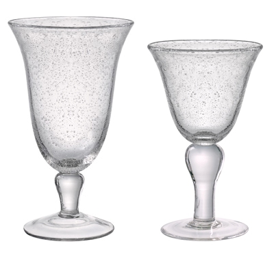 Gallery image for Clear Bubble Glassware