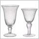 Clear Bubble Glassware