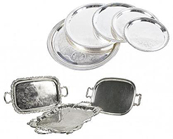 Gallery image for Silver Trays & Platters