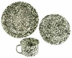 Gallery image for Metal Splatter Tableware