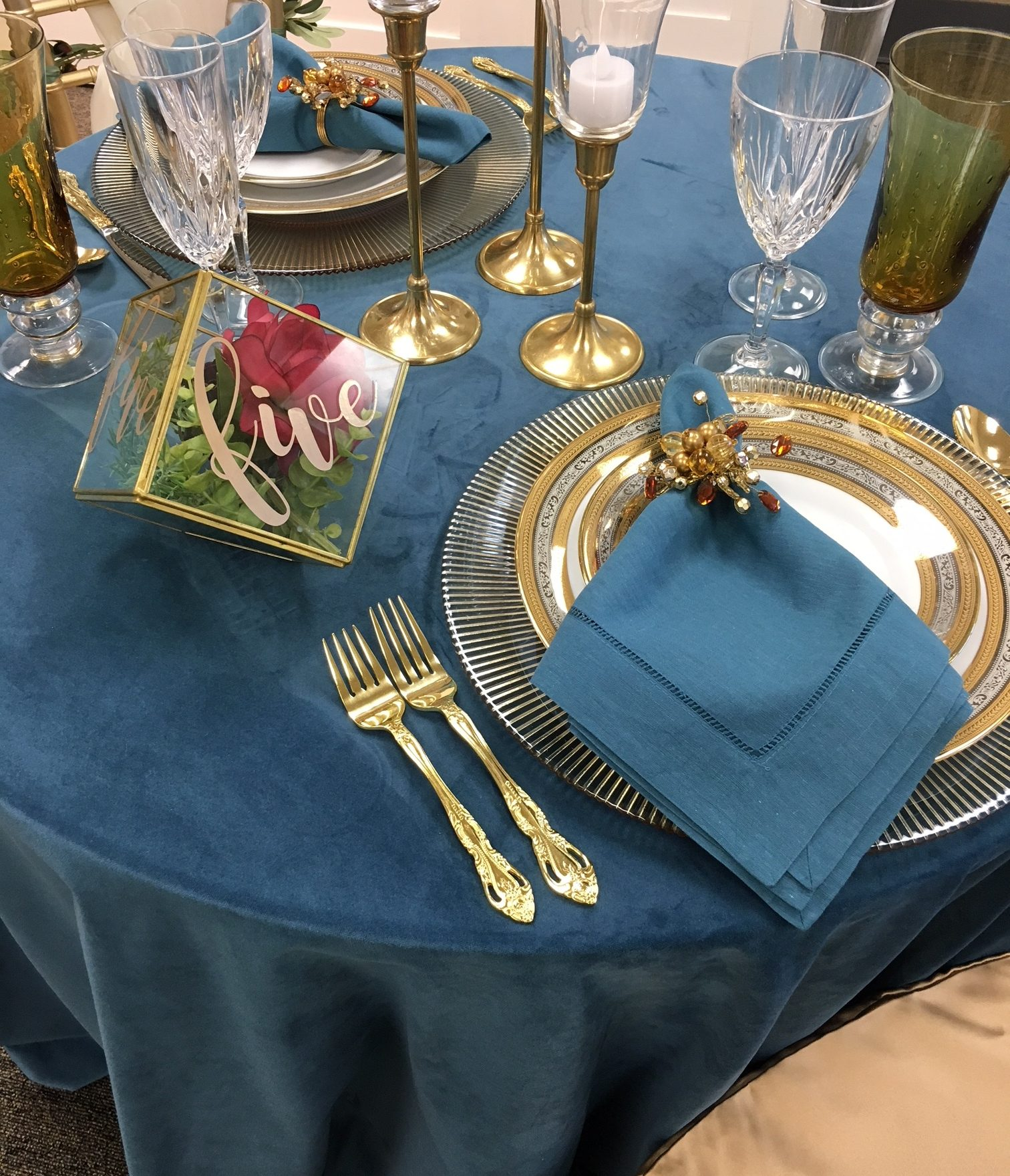 Gallery image for Pacific Blue Velvet