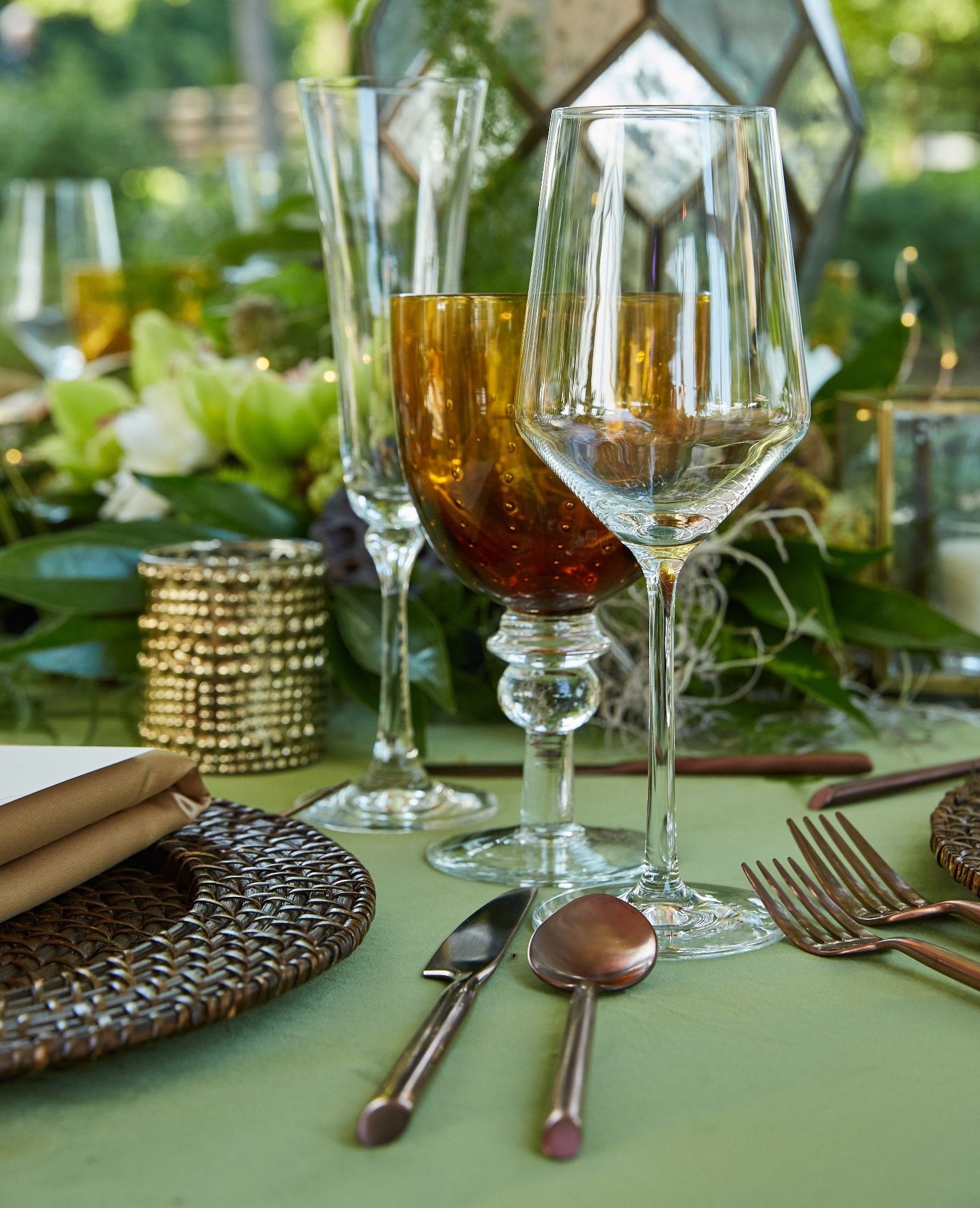 Gallery image for Milano Amber Glassware