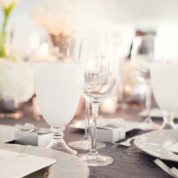 Gallery image for Black White Glassware