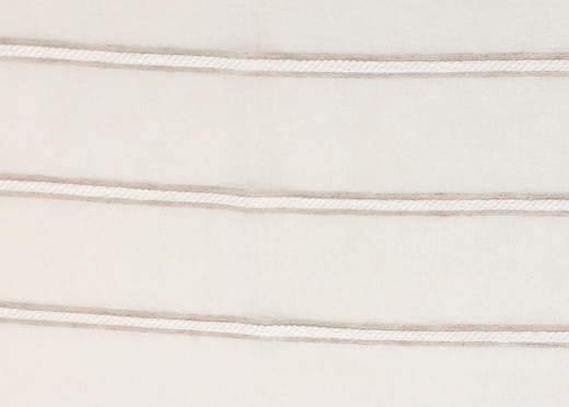 Gallery image for White Jute Stripe Runner