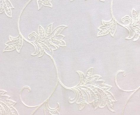 Gallery image for White Sheer Leaf Runner