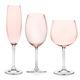 Blush Glassware