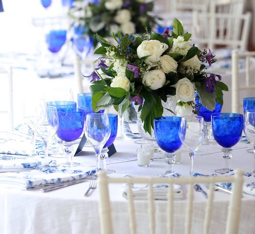 Gallery image for Blue Glassware