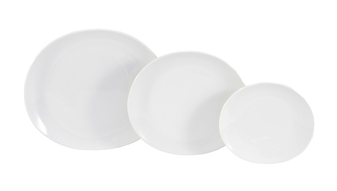 Gallery image for White Oval