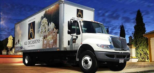 All Occasions Event Rental Truck