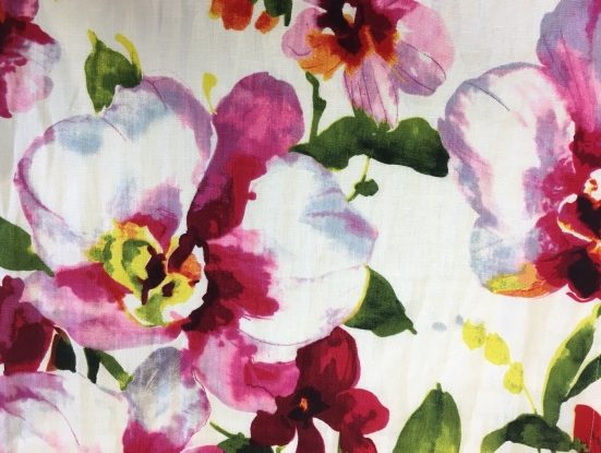 Gallery image for Water Color Floral Runner