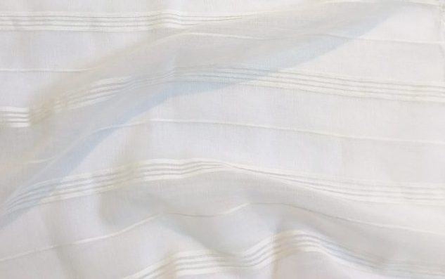 Gallery image for White Stripe Sheer Runner